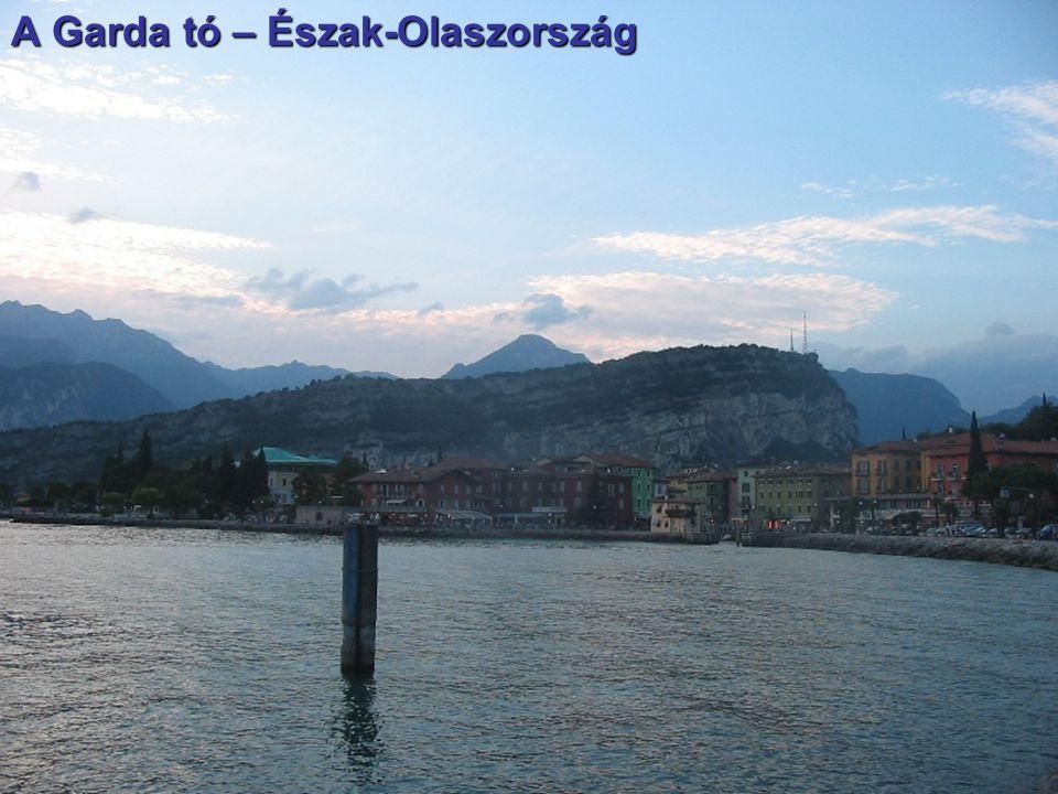 A Garda tó – Észak-Olaszország