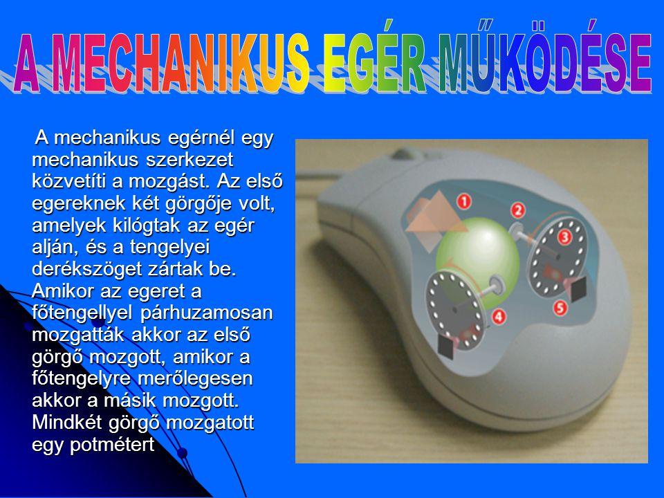 A lézer idővel kiszorítja a piacról a mai optikai egereket.