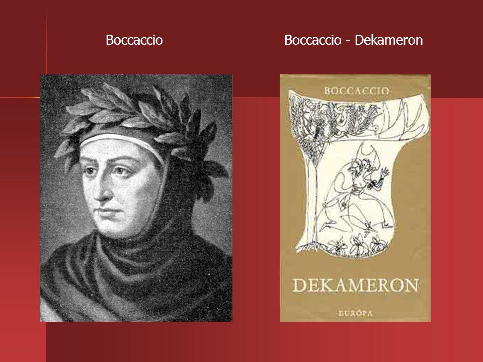 Boccaccio - DekameronBoccaccio