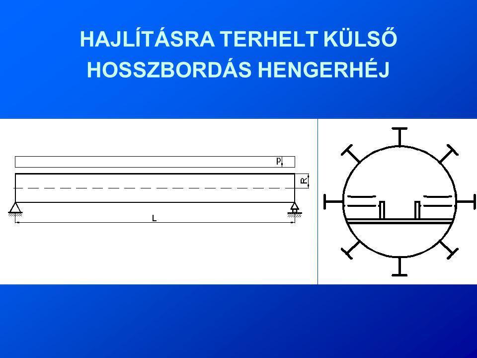 HAJLÍTÁSRA TERHELT KÜLSŐ HOSSZBORDÁS HENGERHÉJ