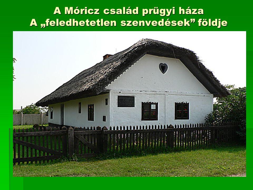 """A Móricz család prügyi háza A """"feledhetetlen szenvedések"""" földje"""