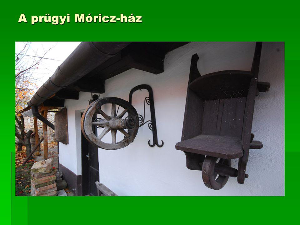 A prügyi Móricz-ház