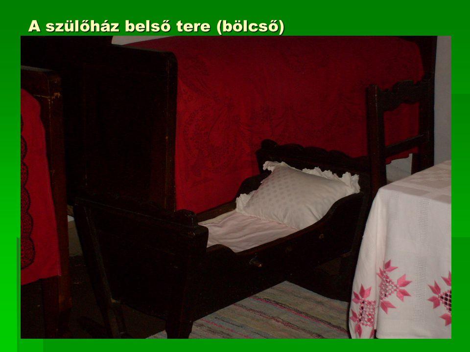 Tiszta szoba a tiszacsécsei házban