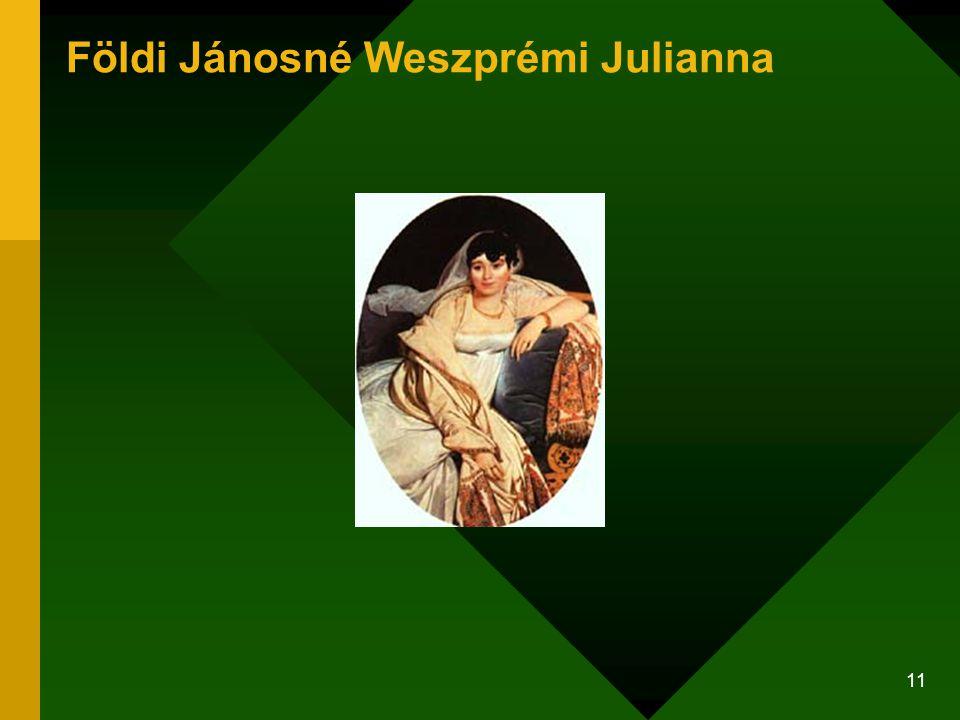 11 Földi Jánosné Weszprémi Julianna