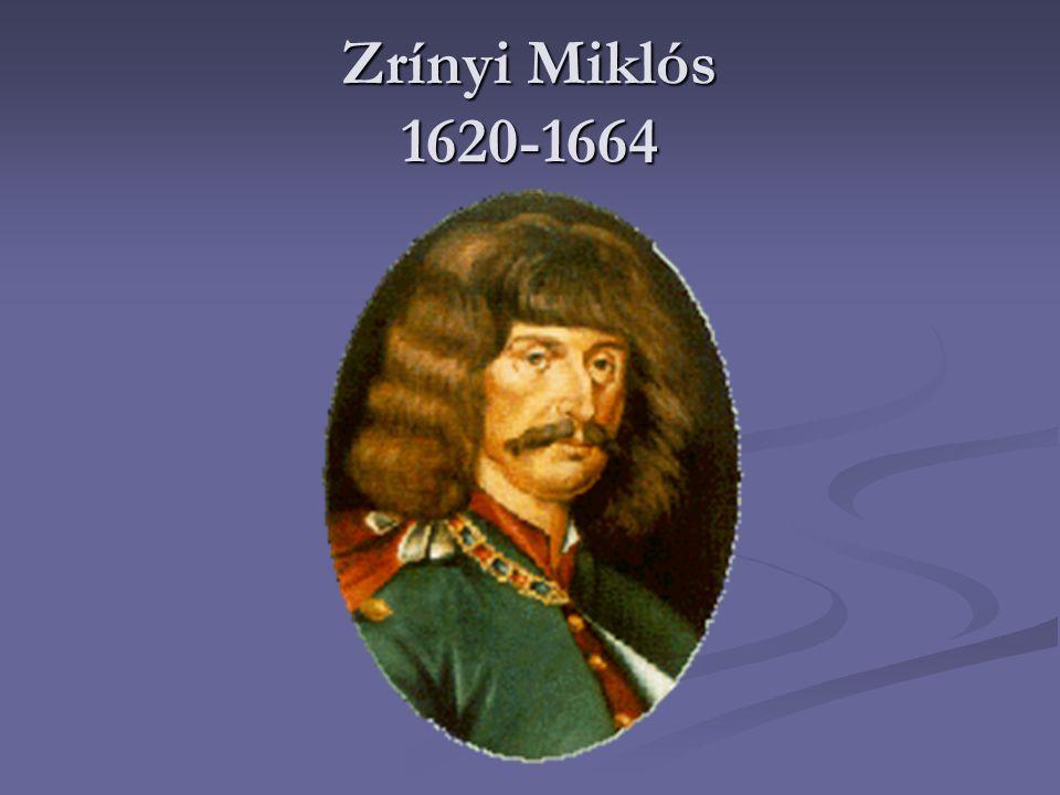 Család Zrínyi Miklós 1620.