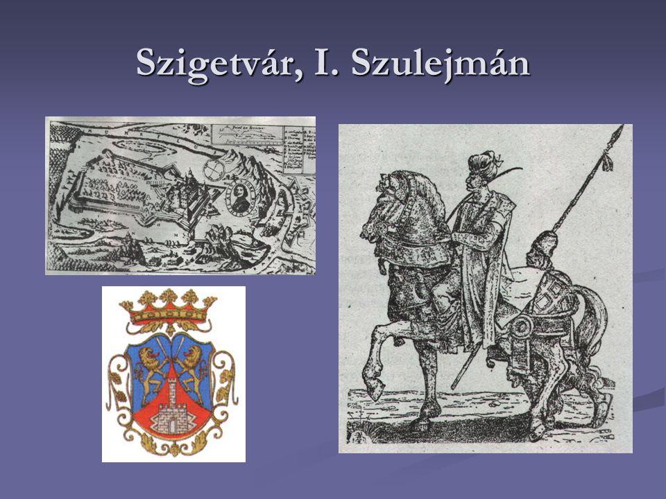 Szigetvár, I. Szulejmán