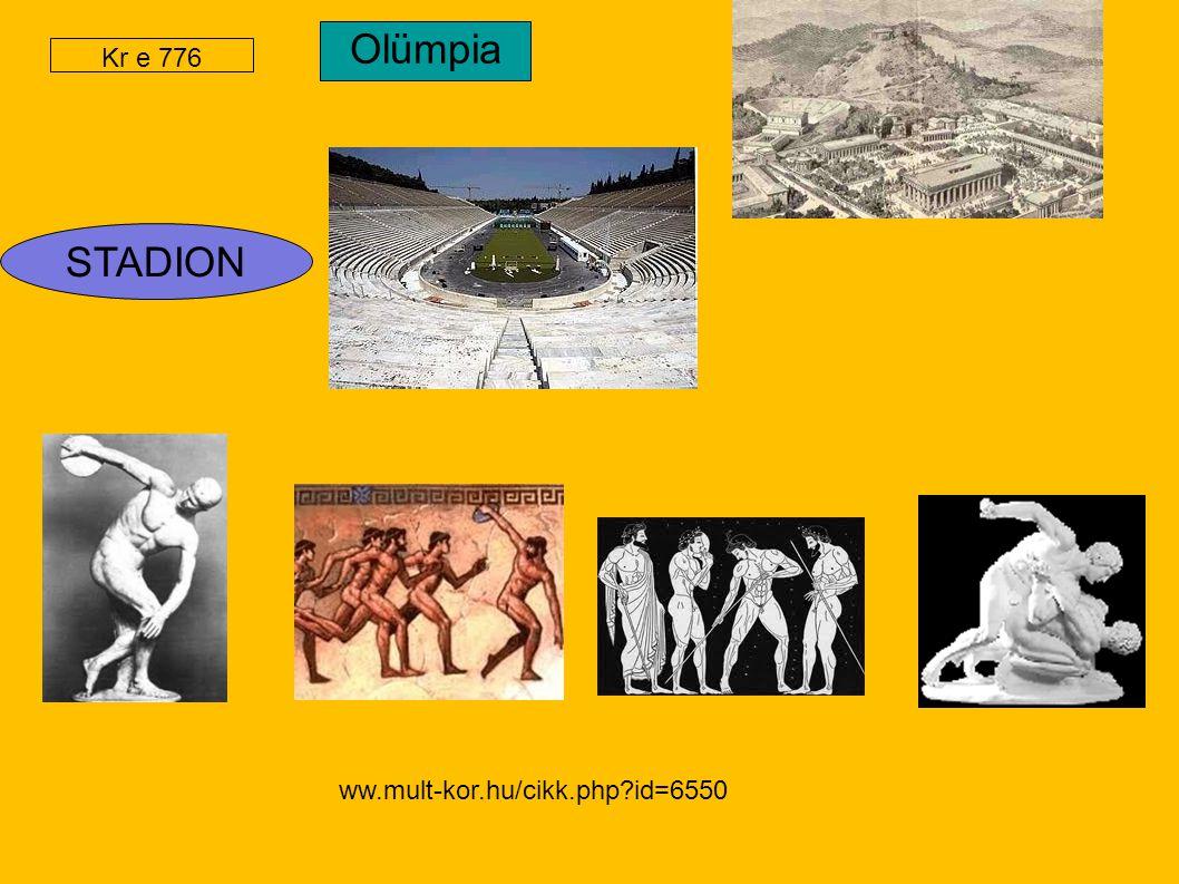 STADION Olümpia Kr e 776 ww.mult-kor.hu/cikk.php?id=6550