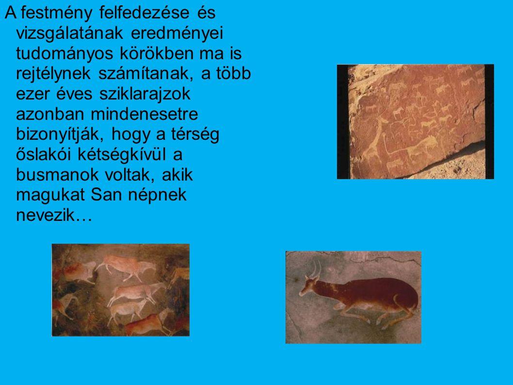 A festmény felfedezése és vizsgálatának eredményei tudományos körökben ma is rejtélynek számítanak, a több ezer éves sziklarajzok azonban mindenesetre