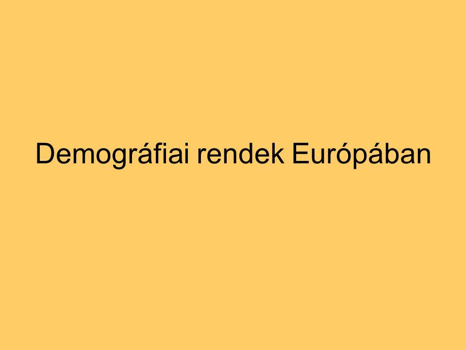 Demográfiai rendek Európában