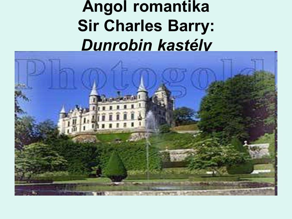 Angol romantika Sir Charles Barry: Dunrobin kastély