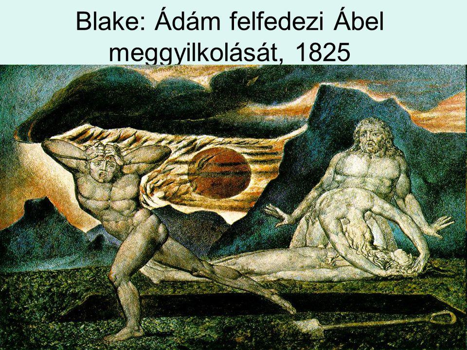 Blake: Ádám felfedezi Ábel meggyilkolását, 1825
