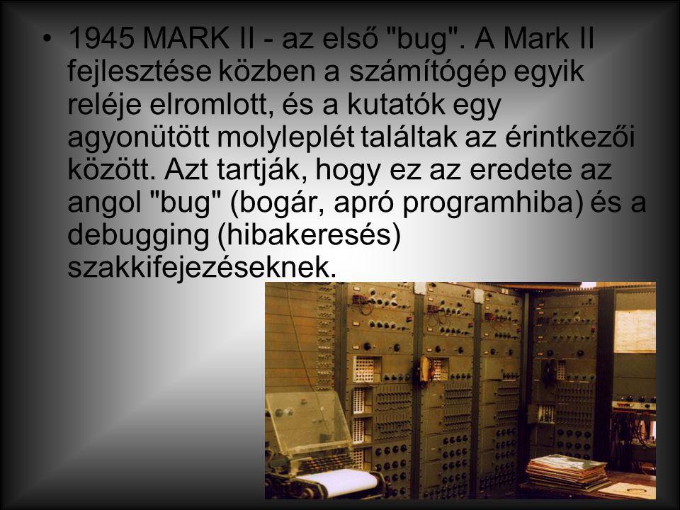 1945 MARK II - az első