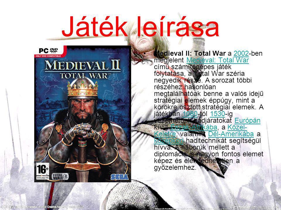 Medieval II: Total War a 2002-ben megjelent Medieval: Total War című számítógépes játék folytatása, a Total War széria negyedik része.