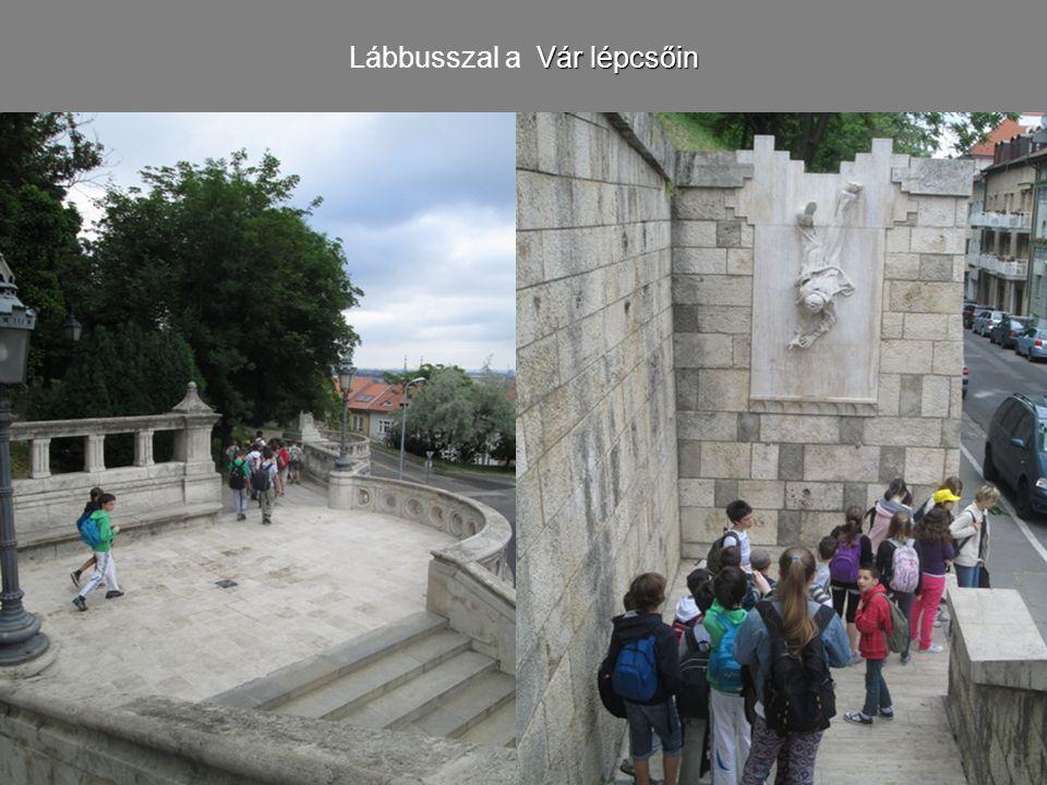 Vár lépcsőin Lábbusszal a Vár lépcsőin