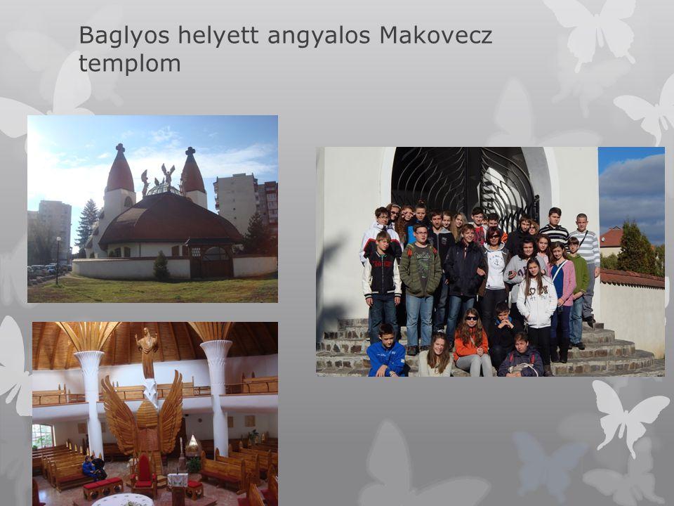Baglyos helyett angyalos Makovecz templom