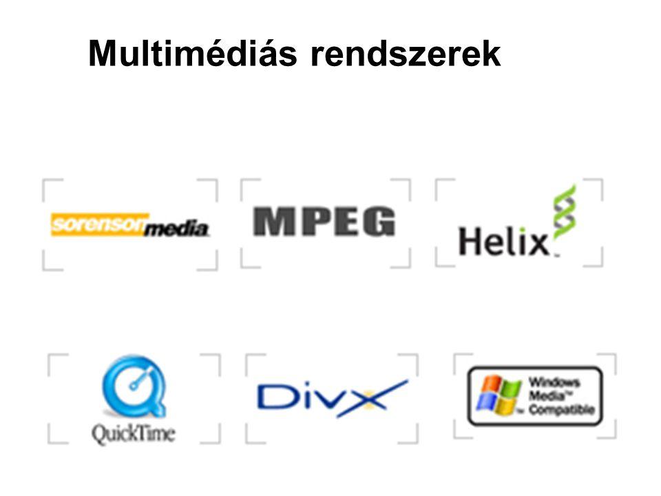 Multimédiás rendszerek