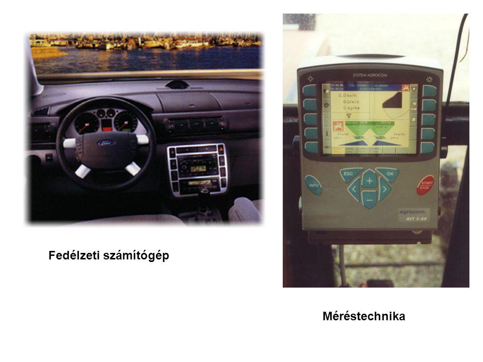 Fedélzeti számítógép Méréstechnika