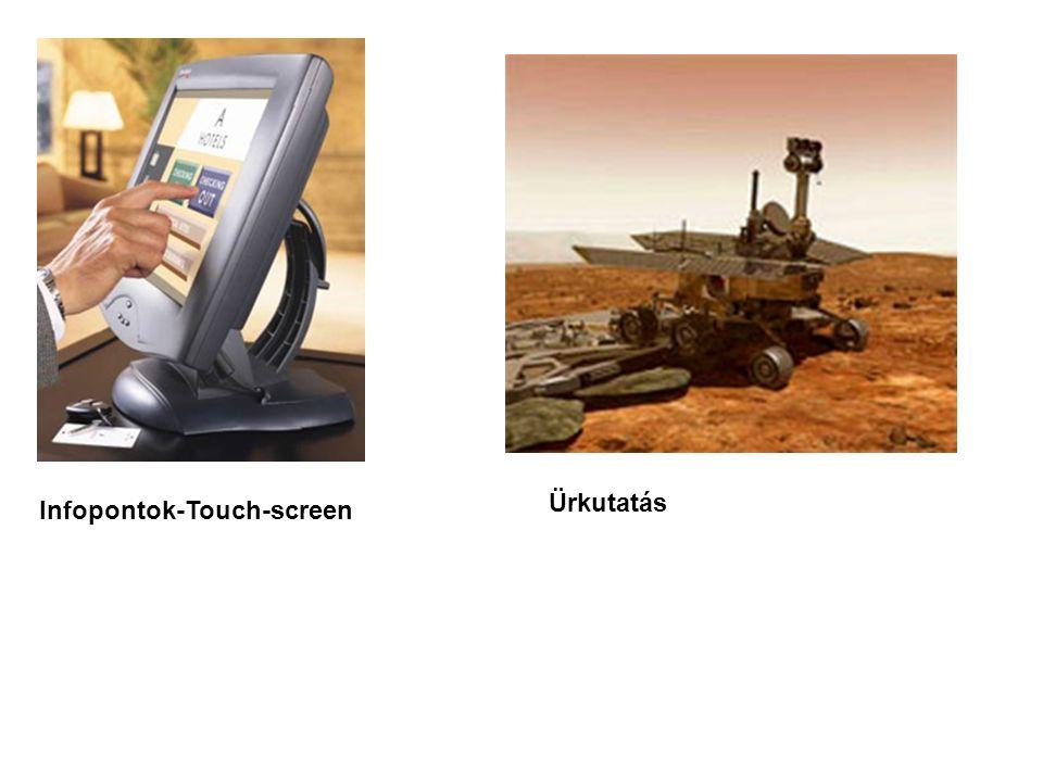 Infopontok-Touch-screen Ürkutatás