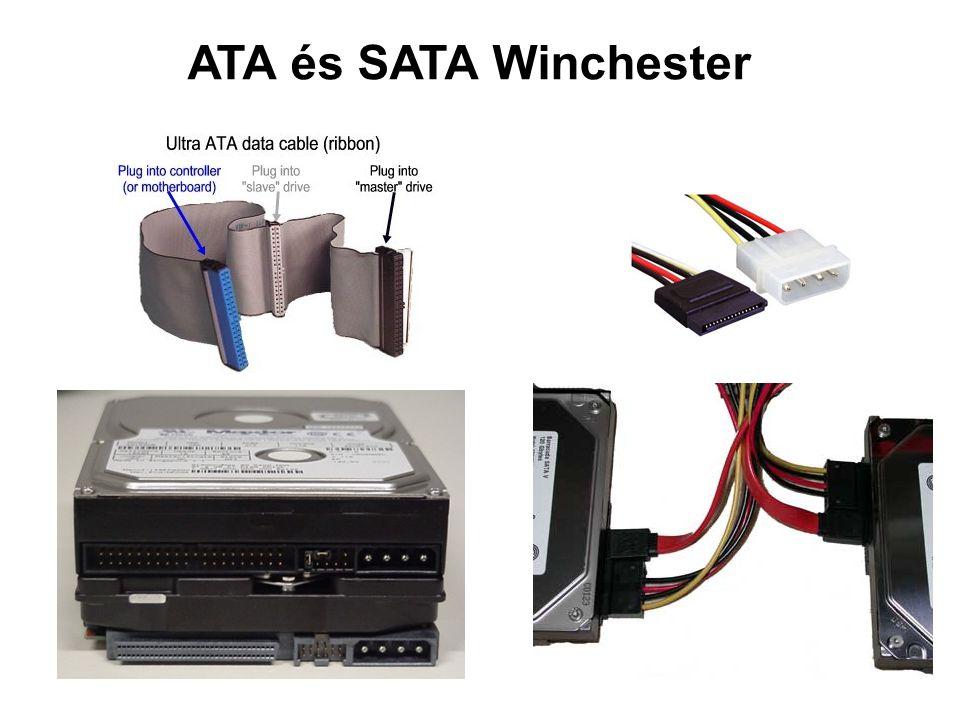 ATA és SATA Winchester
