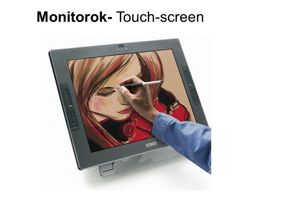 Monitorok- Touch-screen