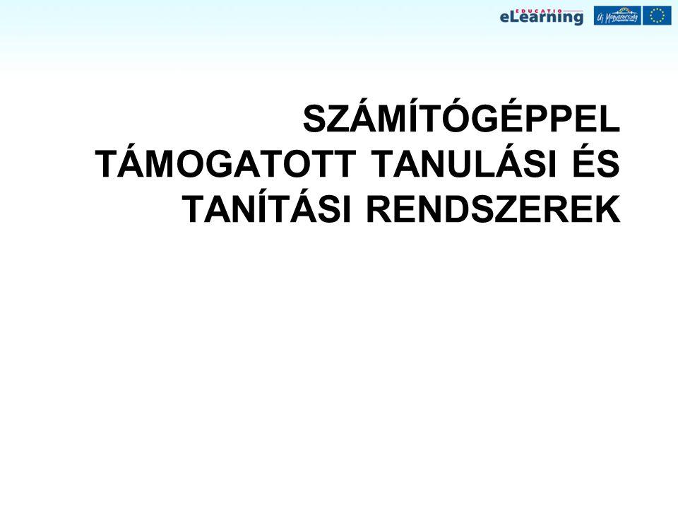 """Információs társadalom az EU-ban """"e-Európa - információs társadalom mindenkinek , 1999 e-learning program és akcióterv, 2000, 2001 Oktatás és képzés 2010 stratégia, Lisszabon, 2000  Digitális kompetencia, mint kulcskompetencia e-Európa 2002 akcióterv, 2000  digitális írástudás  OM Közoktatási informatikai stratégia, 2004 Európai e-learning stratégia 2004-2006 Magyarország  Számítástechnika, informatika  KIT, IKT  IKT kompetencia, digitális kompetencia  IST – az információs társadalom technológiái (NAT 2007)  CECIL projekt  OM, OKM >>> NFT, ÚMFT"""