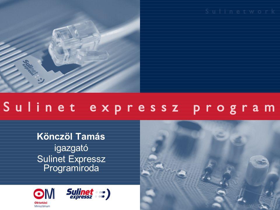 Könczöl Tamás igazgató Sulinet Expressz Programiroda