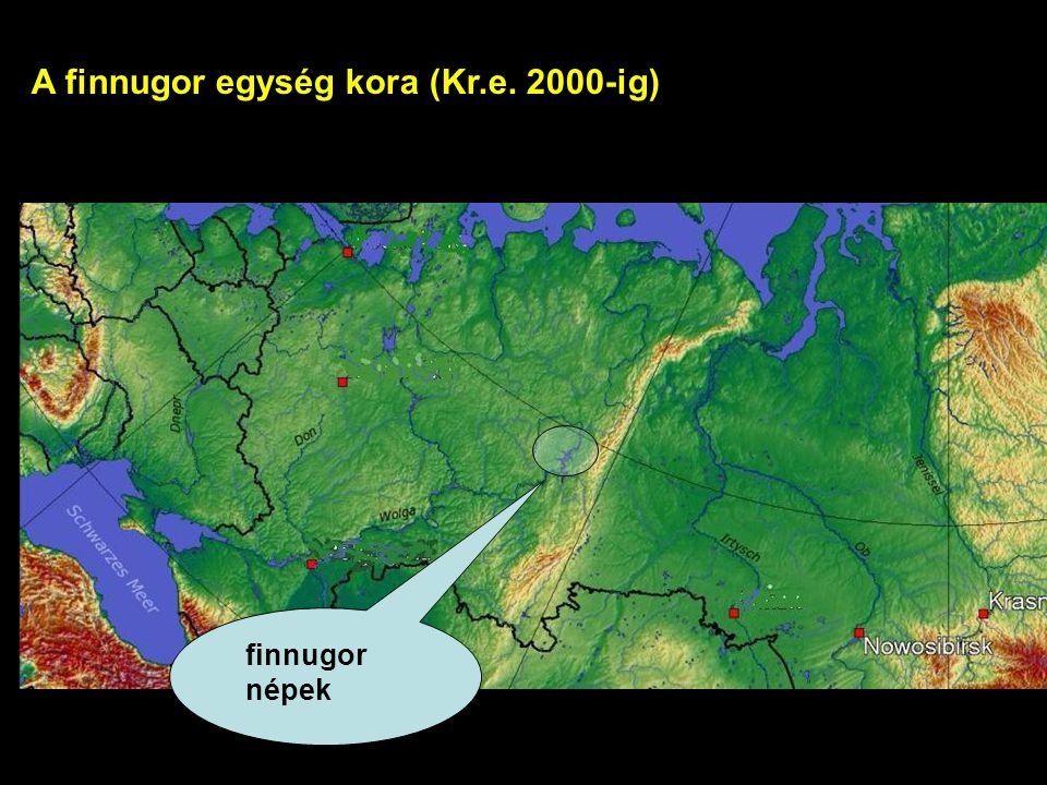 finnugor népek A finnugor egység kora (Kr.e. 2000-ig)