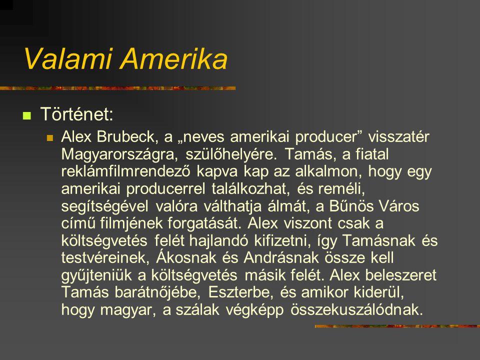 """Valami Amerika Történet: Alex Brubeck, a """"neves amerikai producer visszatér Magyarországra, szülőhelyére."""