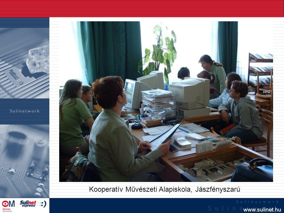 www.sulinet.hu Kooperatív Művészeti Alapiskola, Jászfényszarú