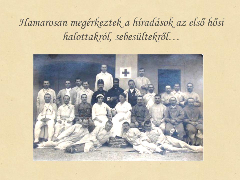 Katonáink helytállása A félegyháziak a kun katonai hagyományokhoz híven vettek részt a közös haza védelmében.