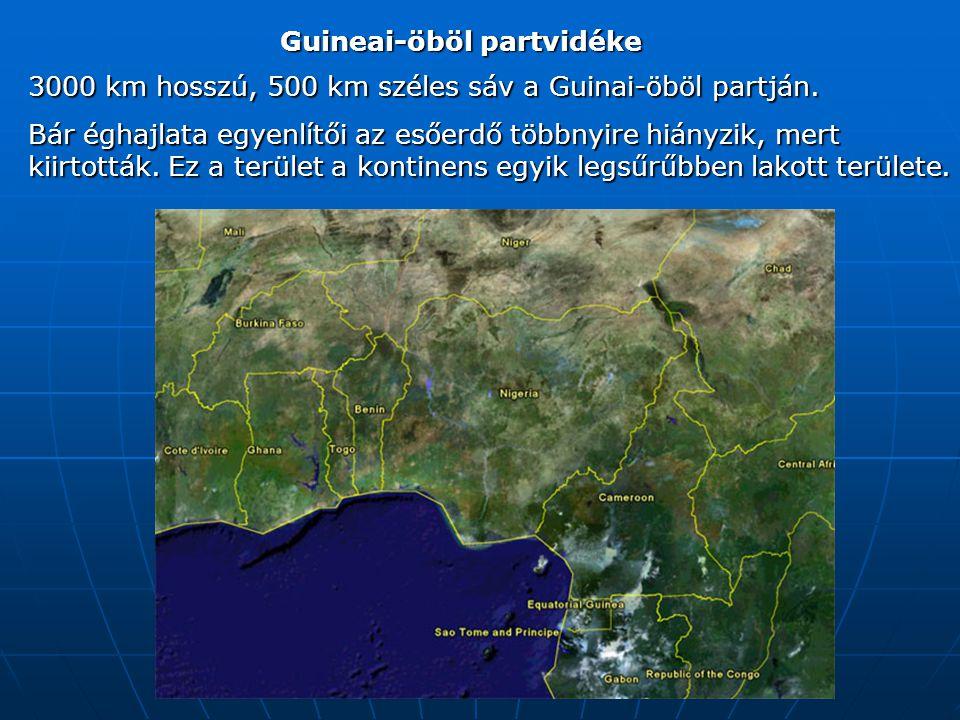 Guineai-öböl partvidéke 3000 km hosszú, 500 km széles sáv a Guinai-öböl partján.