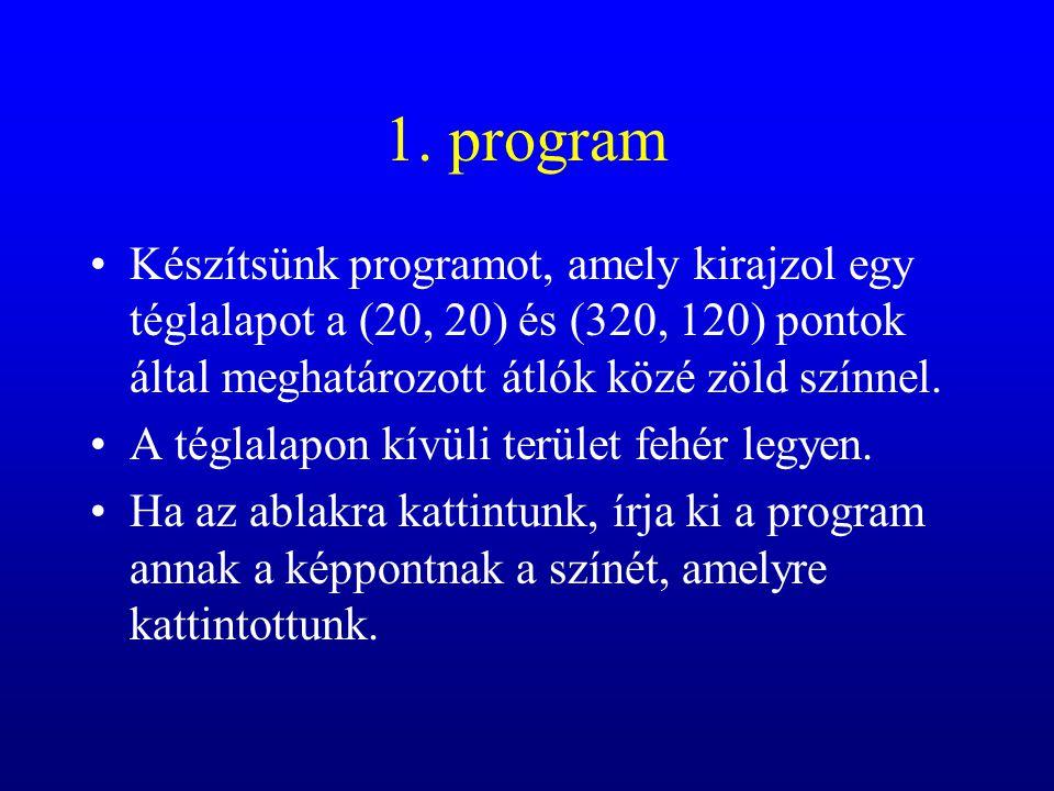 procedure TForm1.FormMouseMove(Sender: TObject; Shift: TShiftState; X, Y: Integer); begin if rajzolhat then canvas.LineTo(x,y); end;