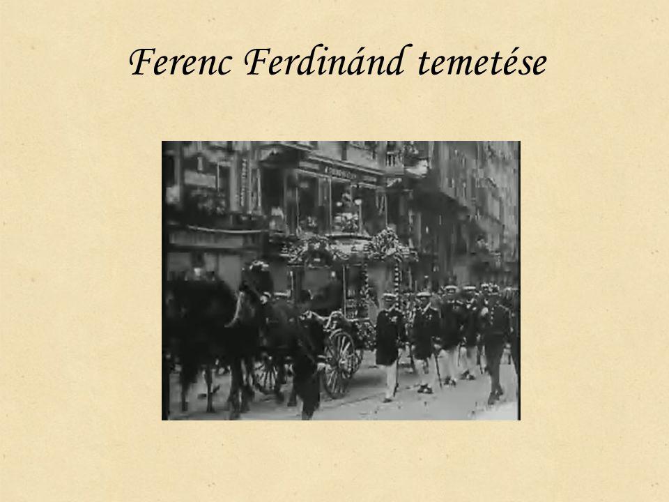 Ferenc Ferdinánd temetése