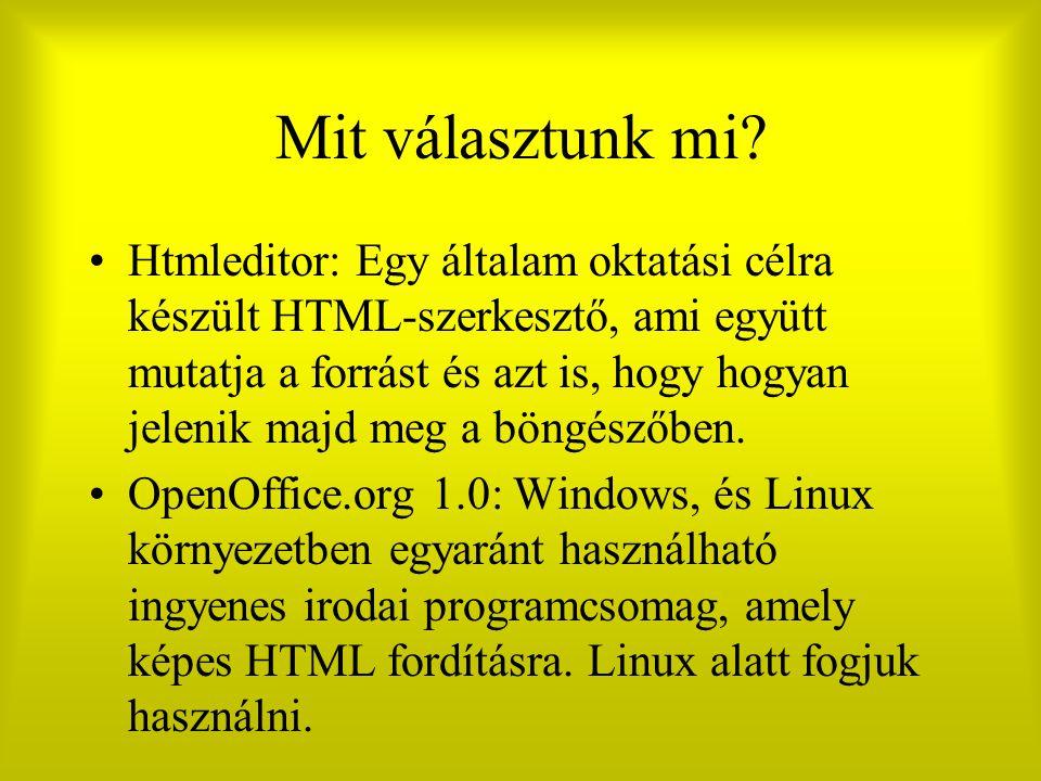 Listák Definiált (Definíció: DT, listázott elem: DD) – – Evőeszközök: – Kés – Kanál – Villa – Települések: – Kiskunlacháza – Debrecen –