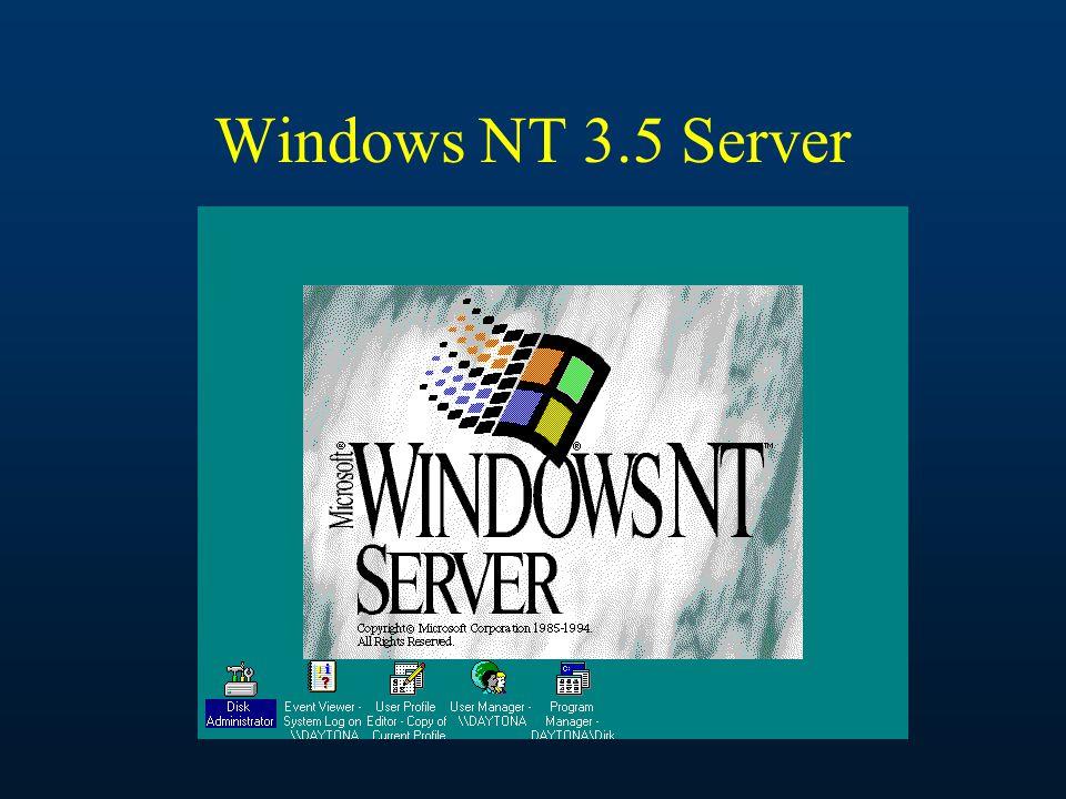 Windows NT 3.5 Server