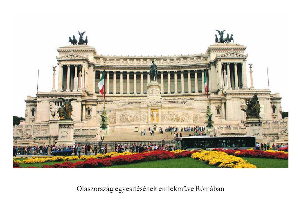 Olaszország egyesítésének emlékműve Rómában