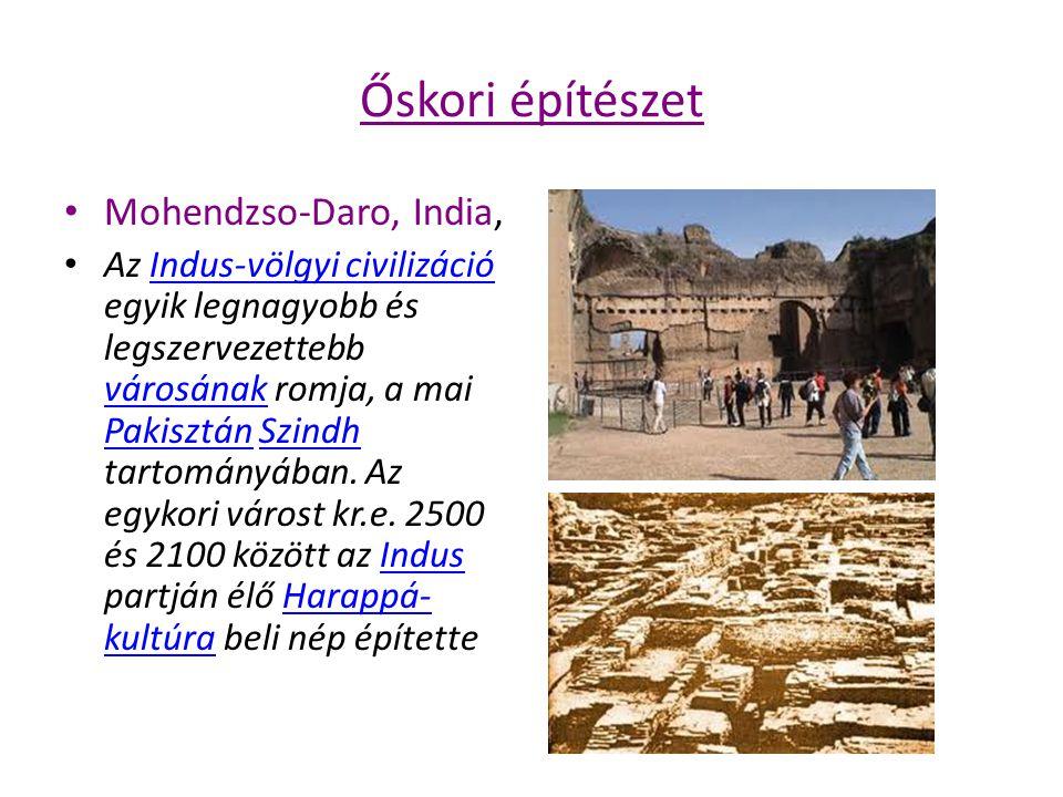 """Őskori építészet Jerikó Jerikó a közel-keleti neolitikum egyik legfontosabb lelőhelyeneolitikum A város lakói meggazdagodtak, és fallal vették körül városukat, védelemül az irigy szomszédok ellen Józsué könyve (5,6) írja le Jerikó bevételét, mely szerint """"amikor meghallotta a nép a kürt szavát, hatalmas harci kiáltásban tört ki, és a kőfal leomlott. Józsué könyve"""