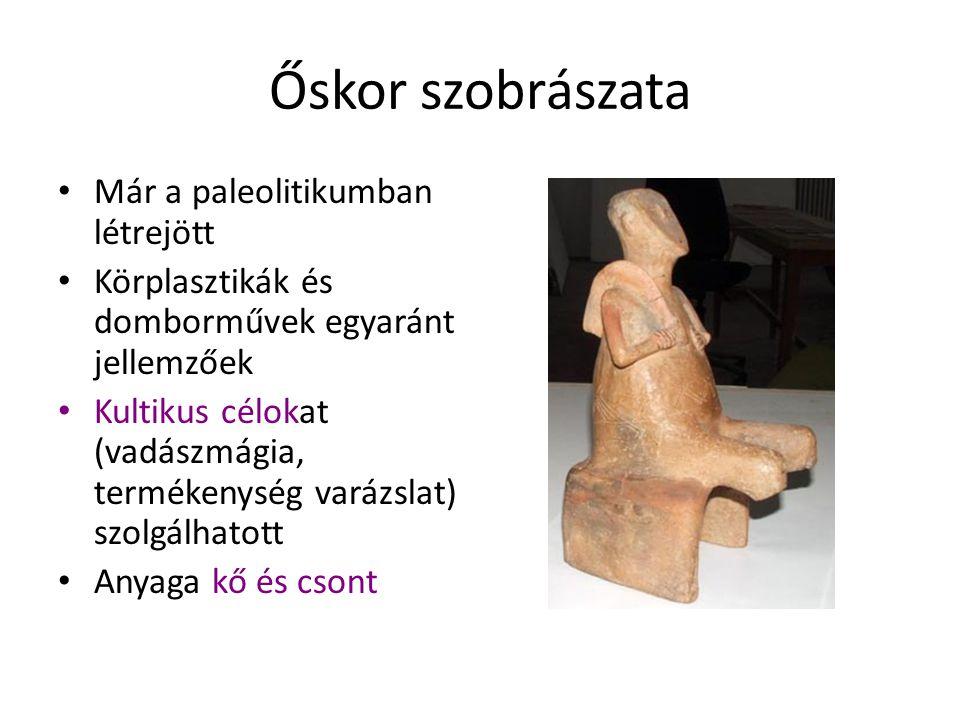 Őskor szobrászata Willendorfi Vénusz Lausseli Vénusz