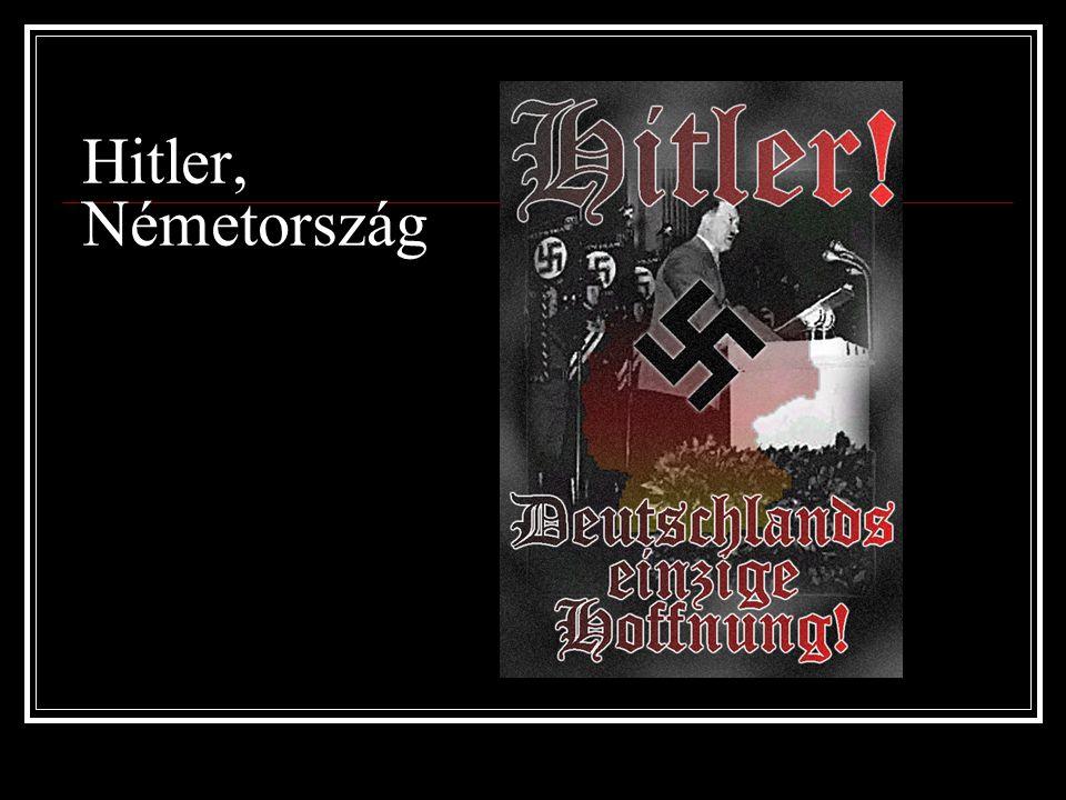 Hitler, Németország