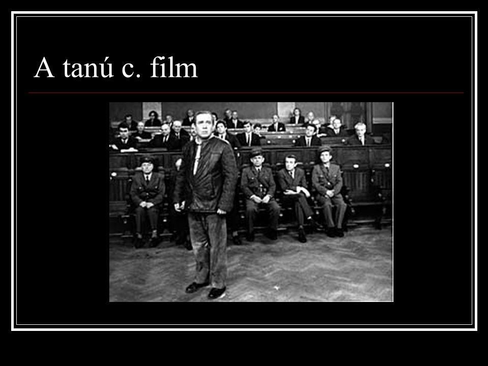 A tanú c. film