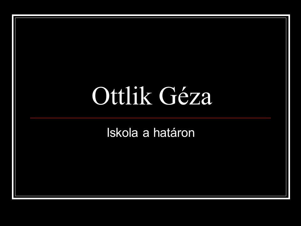 Ottlik Géza Iskola a határon