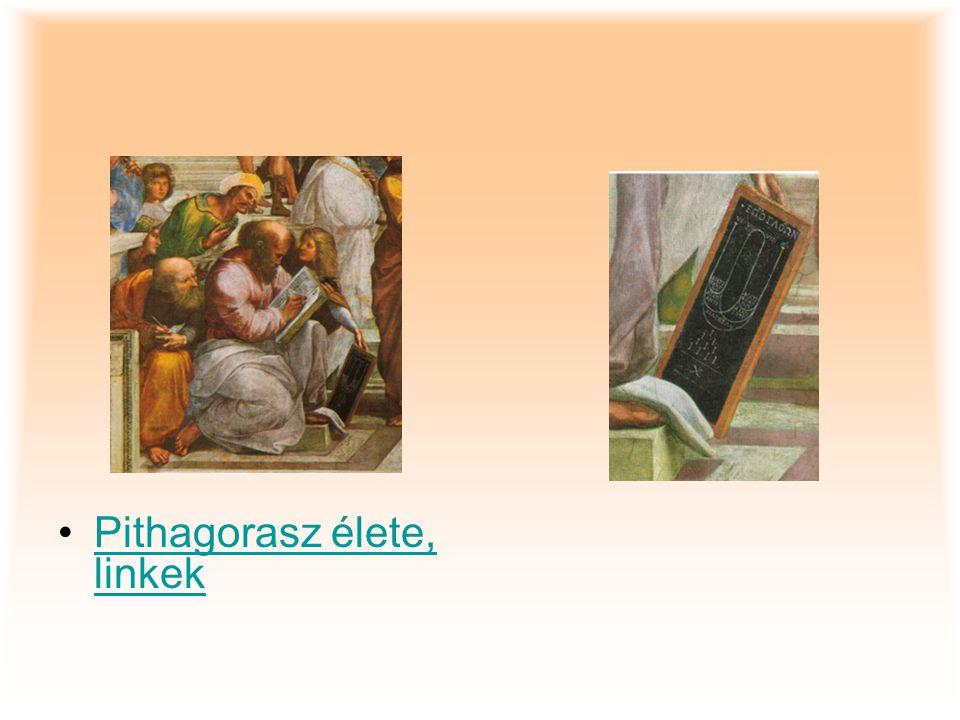 Pithagorasz élete, linkekPithagorasz élete, linkek