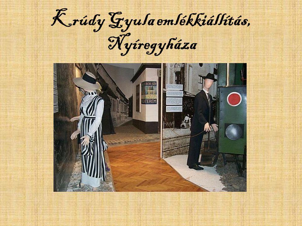 Krúdy Gyula emlékkiállítás, Nyíregyháza