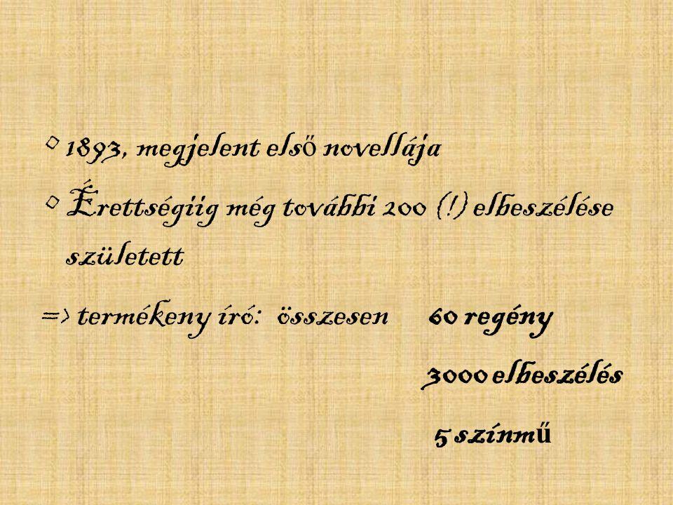 Újságírás: Debrecen, Nagyvárad 16 évesen már cikkeket írt.