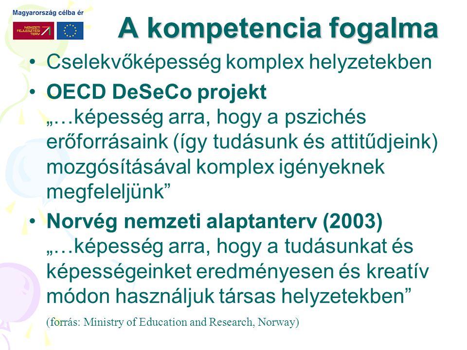MINTA A kísérlet, projekt bemutatása, témához csatlakozó újságcikk értelmezése, önálló kutatómunka eredményének bemutatása, az együttműködés egyszerű közös feladatban).