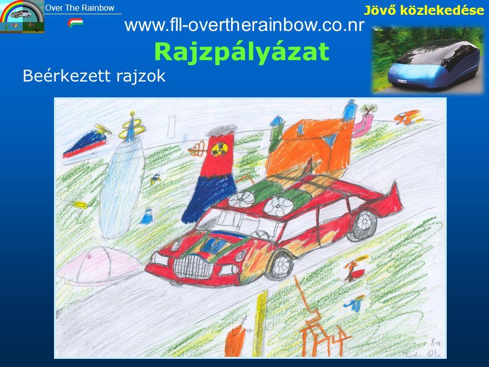Jövő közlekedése Rajzpályázat Beérkezett rajzok www.fll-overtherainbow.co.nr Over The Rainbow