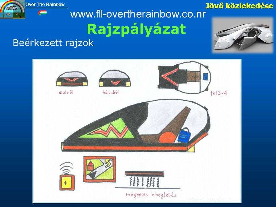 Jövő közlekedése Over The Rainbow Rajzpályázat Jövő közlekedése www.fll-overtherainbow.co.nr Beérkezett rajzok Over The Rainbow