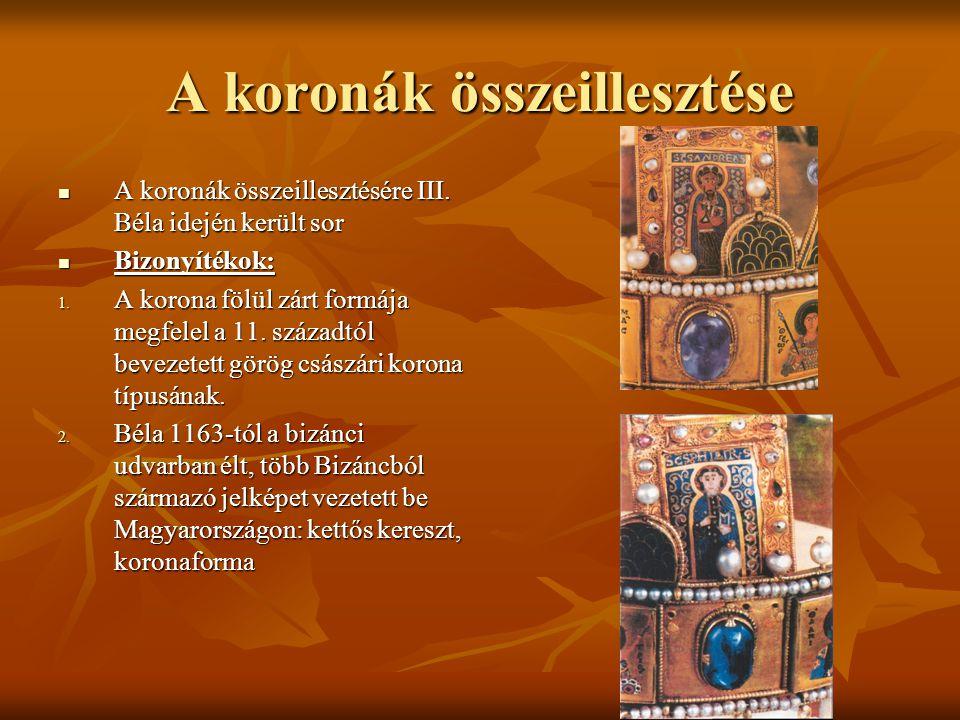 """Miért """"Szent korona.A """"szent jelző a szent istváni eredettel kapcsolható össze, amely a 18."""