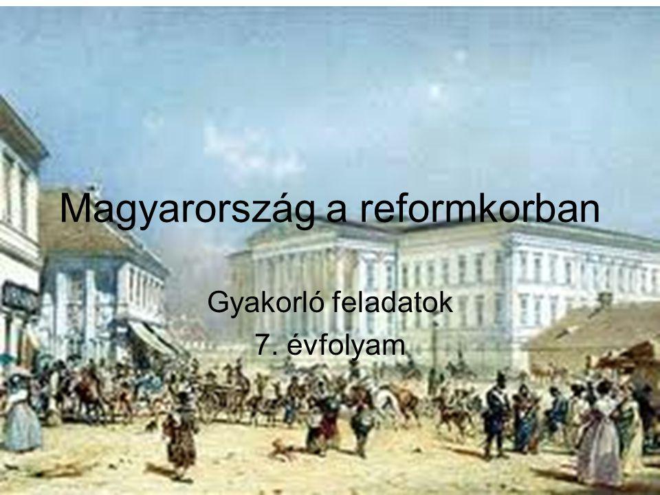 Nevezd meg a reformkor nagyjait a képek alapján!