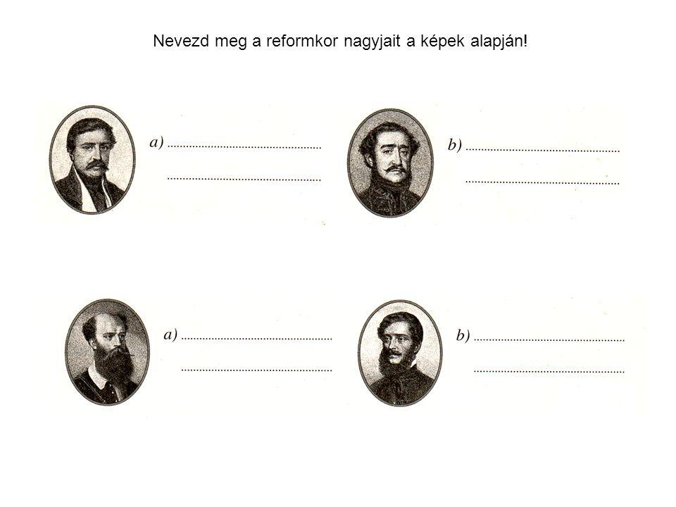 Deák FerencSzéchenyi István Kossuth Lajos Batthyány Lajos gróf